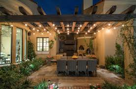 Pergola String Lights How To Use String Lights To Create Fantastic Outdoor Setups