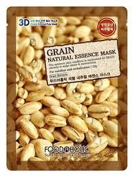 <b>Тканевая 3D маска с</b> экстрактом зерновых культур Grain Natural ...