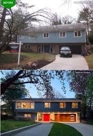 Best Images About Split Level Remodel On Pinterest - Split level exterior remodel