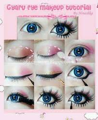 this guide shows how you can transform yourself into a cute gyaru today we are sharing with you some quick gyaru makeup tutorials