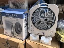 Quạt sạc tích điện có đèn SUNCA SF-292A / Quạt Tích Điện Panasonic 2 Acquy  Sunca SF-292A - ĐỒ GIA DỤNG TOÀN QUỐC