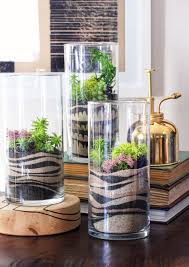 Sand Art Terrariums ~ pretty cool looking.a diy craft kit makes it happen