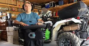Grand-Sault: paralysé depuis une balade à VTT qui a mal tourné