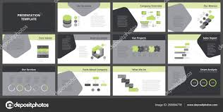 Presentation Flyers Business Presentation Templates Vector Infographic Elements