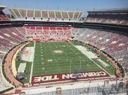 Alabama Football Stadium Seat Chart Bryant Denny Stadium Section Ss9 Rateyourseats Com
