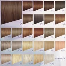 Illumina Color Chart Hair Color Formulas Wella Illumina