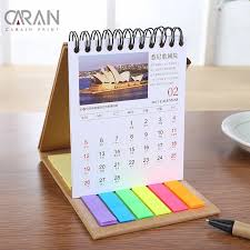 Hot Sale Table Stand Custom Design And Printing New 2018 Notebook Calendar With Pen Buy 2018 Calendar Notebook Calendar New Calendar Product On