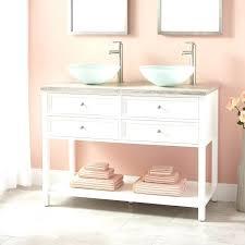 white bathroom vanities and sinks 55 inch bathroom vanity double sink white