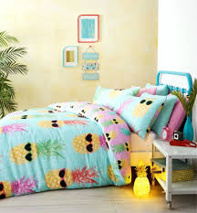 large size of full size of teenage funky pineapple bright tropical beach theme summer bedding duvet