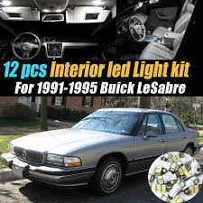 2004 Buick Lesabre License Plate Light Amazon Com 12pc Super White 6000k Car Interior Led Light