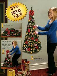 Vintage Macrame Christmas Tree Wall Hanging  Hanging Wall Christmas Trees That Hang On The Wall