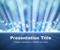 Blue Powerpoint Theme Free Exclusive Powerpoint Templates