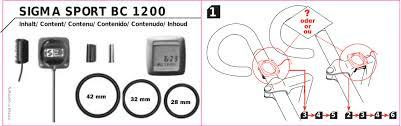 sigma sport bc 1200 user manual manualzz