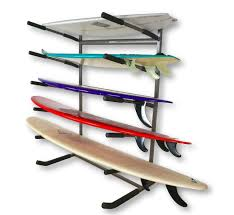Surfboard Display Stand Freestanding Surf Rack Holds 100 Surfboards StoreYourBoard 67