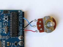 arduino potentiometer code