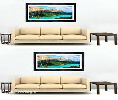 how to hang wall art centering art relative to furniture versus the wall hang ten wall on hang ten wall art with how to hang wall art phillyopinion