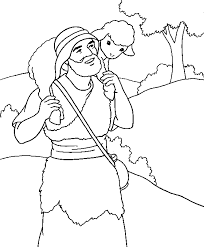 Small Picture The Lost Sheep Coloring Page