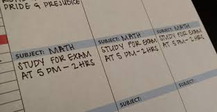 Student Daily Planner With Subjects 7 Tips For The Most Successful Planner