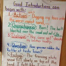 personal narrative leads introductions anchor chart writing  personal narrative leads introductions anchor chart writing realisticfiction writing personal narratives anchor charts and chart