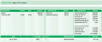 free uk payslip template download payroll accountings sage payroll how to email payslips