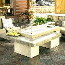 chisholm 27 tall square lp gas fire column columns garden torches bent into shape