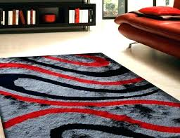 red rug runner awesome gray and large size of area outstanding black rugs red and gray area rug