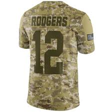 Salute To Service Rodgers Jersey