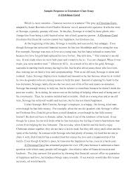 sample literary essays co sample literary essays