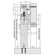 internal sliding door kit