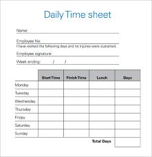 Time Sheets Excel Daily Timesheet Template Tirevi Fontanacountryinn Com