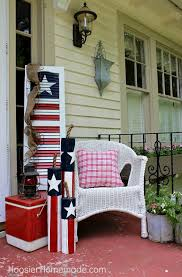 front porch 4th of july decorating ideas the budget decorator