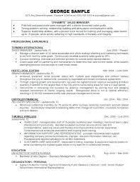 Telecom Sales Manager Sample Resume Podarki Co