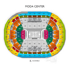 Moda Center Seating Chart Some Getting Increasingly Foremost Thereby Never Lengthy