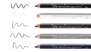 Eyeliner Chart How To Do Winged Eyeliner In 3 Easy Steps 100 Pure