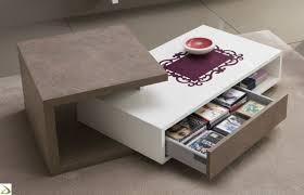 Tavolino moderno con cassetto yari arredo design online