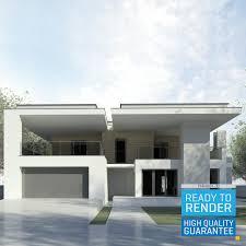 Revit Architecture Modern House Design Modern House Revit 3d 3d Model