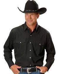 Ely Cattleman Mens Dobby Solid Western Dress Shirt 15201934 89