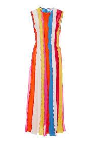 Prabal Gurung Size Chart Tika Silk Rainbow Dress