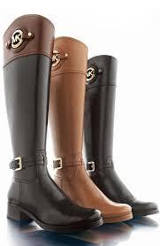 michael michael kors stockard leather riding boot