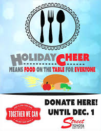Free Holiday Flyer Template Food Drive Flyers Templates