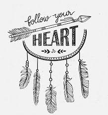 Quotes About Dream Catcher Boho Template With Inspirational Quote Lettering Follow Your 90