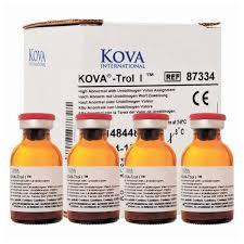 Kova Urine Dipstick Chemistry Control Kova Trol I High Wurobilinogen
