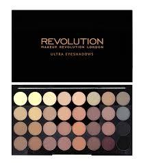 makeup revolution eyeshadow pallete flawless matte