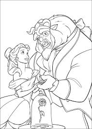Small Picture Beauty and the beast Free Coloring Pages Coloring Pages
