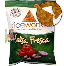 rice works salsa fresca riceworks salsa fresca brown rice crisps candy central