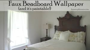 kammy's korner beadboard no it's wallpaper