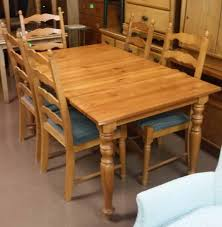 Jokkmokk Table And 4 Chairs Antique Stain Ikea Round Pine Dining