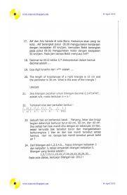Feb 19, 2020 · contoh soal olimpiade sekolah dasar (sd) baca juga: Contoh Soal Olimpiade Matematika Sd