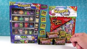 Grossery Gang Vending Machine Best Vile Vending Machine Grossery Gang Exclusive Blind Bag Pack Opening