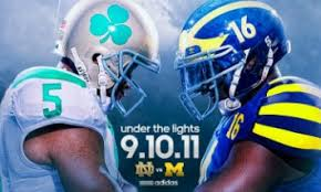 Notre Dame Michigan Preview Under The Lights 9 10 2011